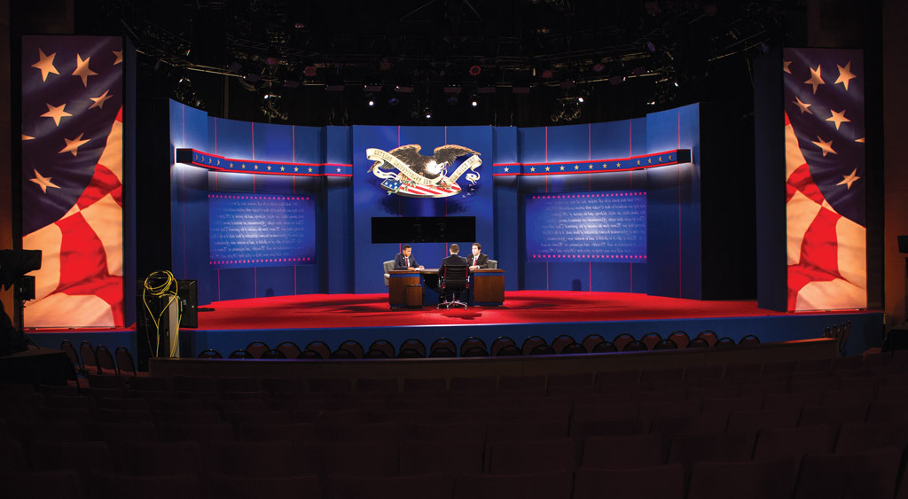 2012 Presidential debate held on bt365手机下载 campus.