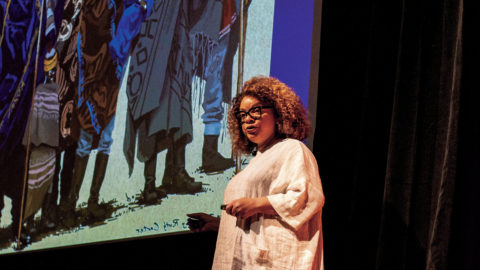 Ruth E. Carter talks Marvel fashion in the Wold.