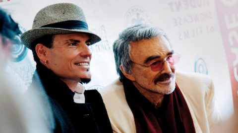 Burt Reynolds and Vanilla Ice
