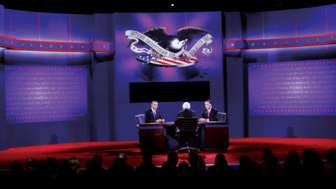 Presidential debate at bt365手机下载