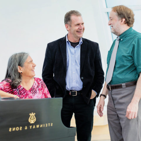 Dr. Thomas McKinley, Gregory Miller and Dr. Roberta Rust